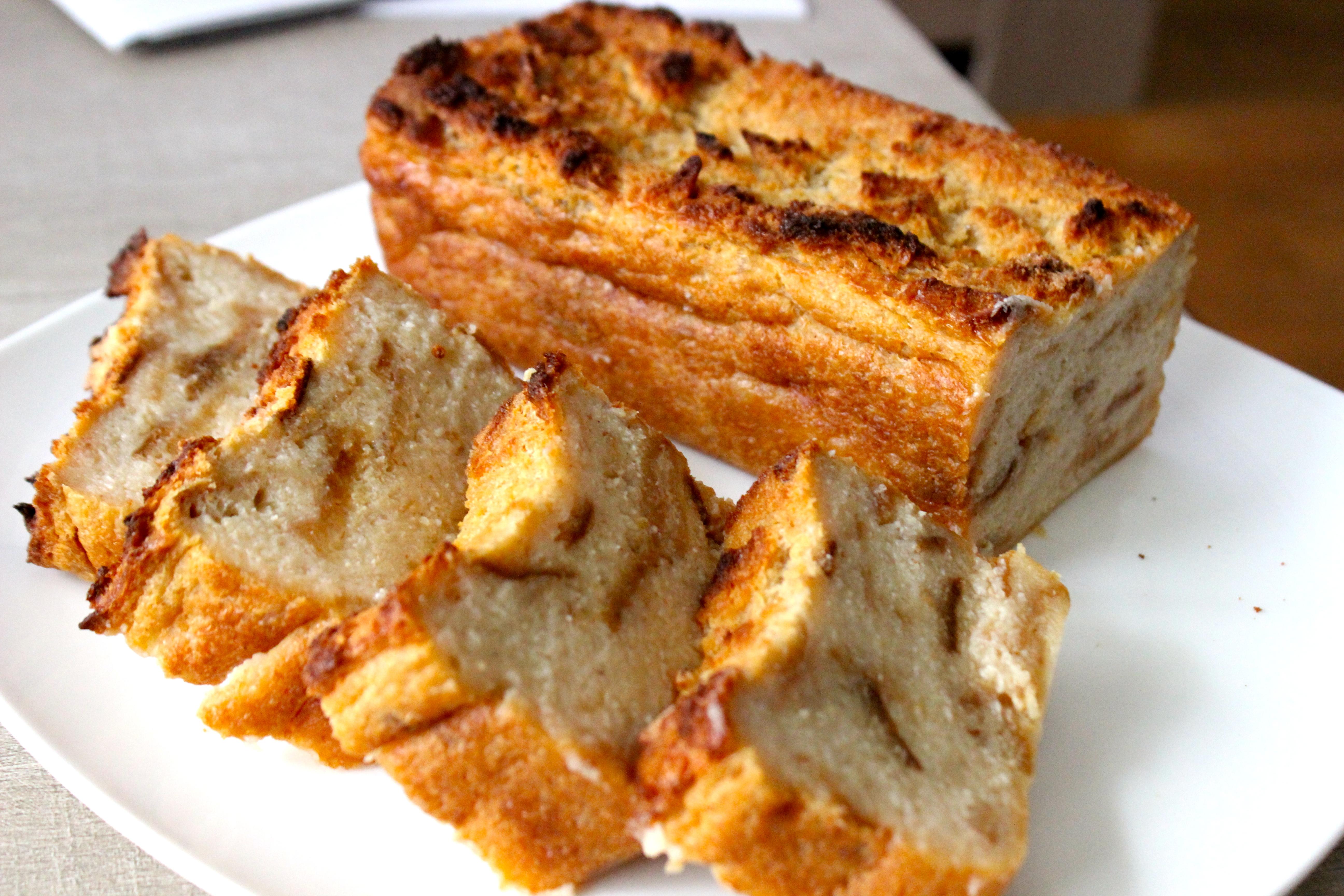 Gateau avec les restes de pain